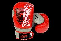 Боксерские перчатки PowerPlay 3008 Красные 14 унций, фото 1