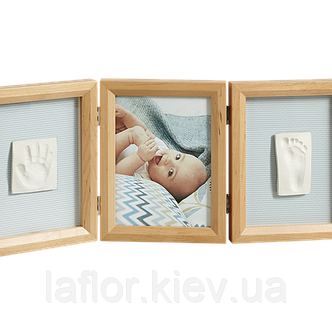 Рамка для фото Baby Art Double Print Frame natural, фото 2