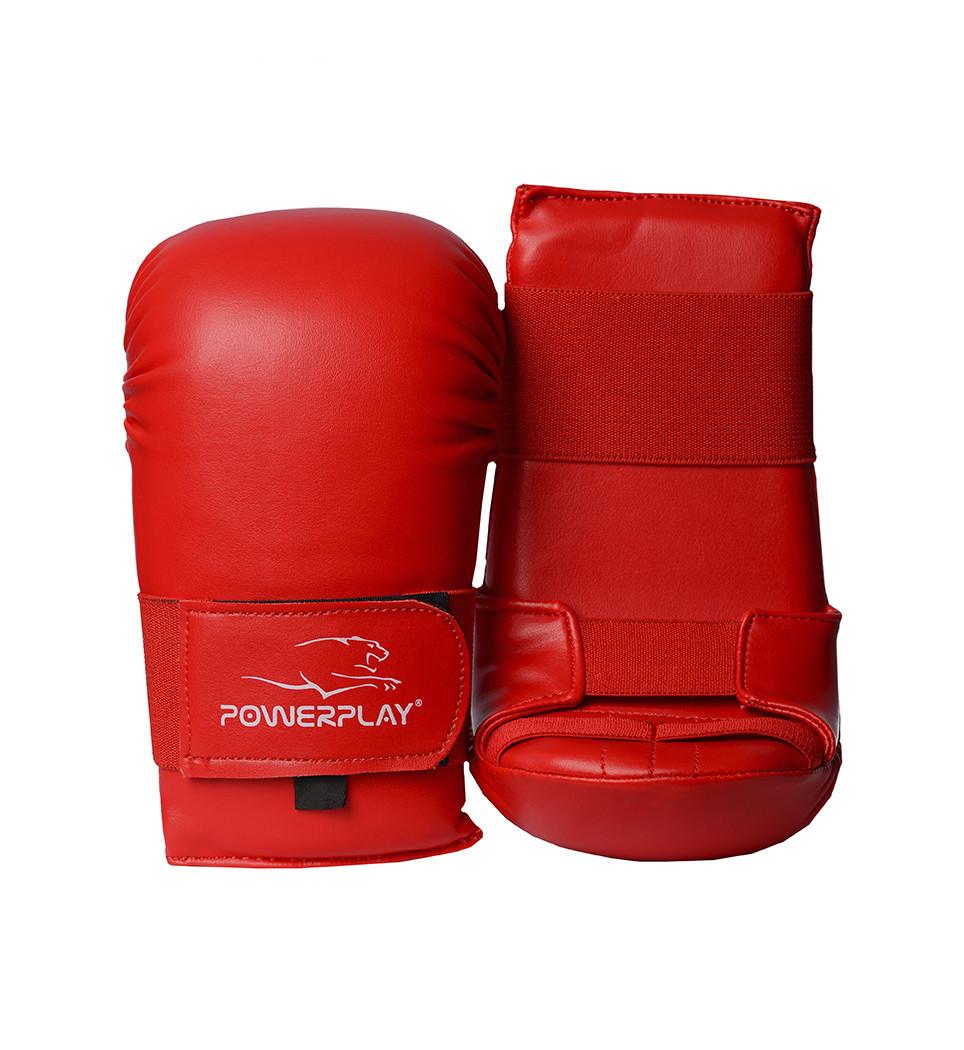 Перчатки для каратэ PowerPlay 3027 Красные M