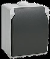 РСб20-3-ФСр Розетка одноместная с з/к для открытой установки ФОРС IP54 IEK