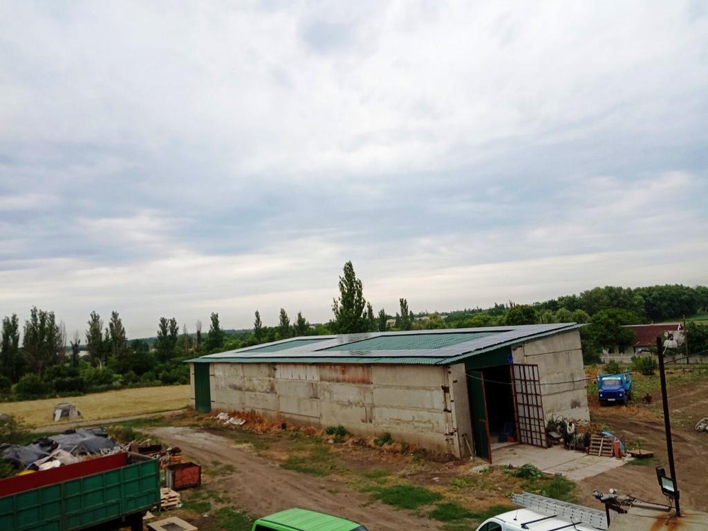 """Новомихайловка солнечная электростанция под """"зеленый"""" тариф мощностью 40,2 кВт Risen + Huawei Днепропетровская область"""