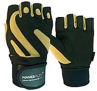 Перчатки для фитнеса PowerPlay 1064 F Черно-Коричневые XL, фото 1
