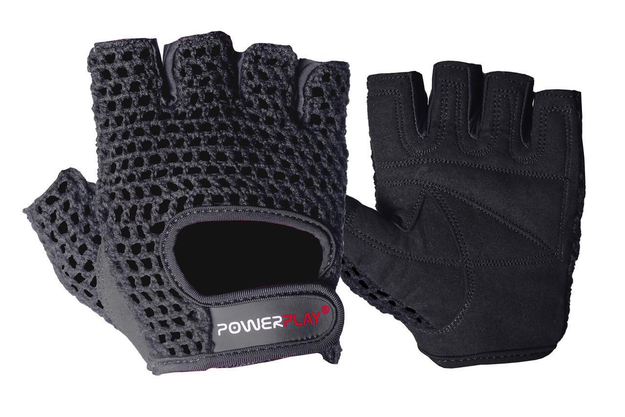Перчатки для фитнеса PowerPlay 1953 Черные XL