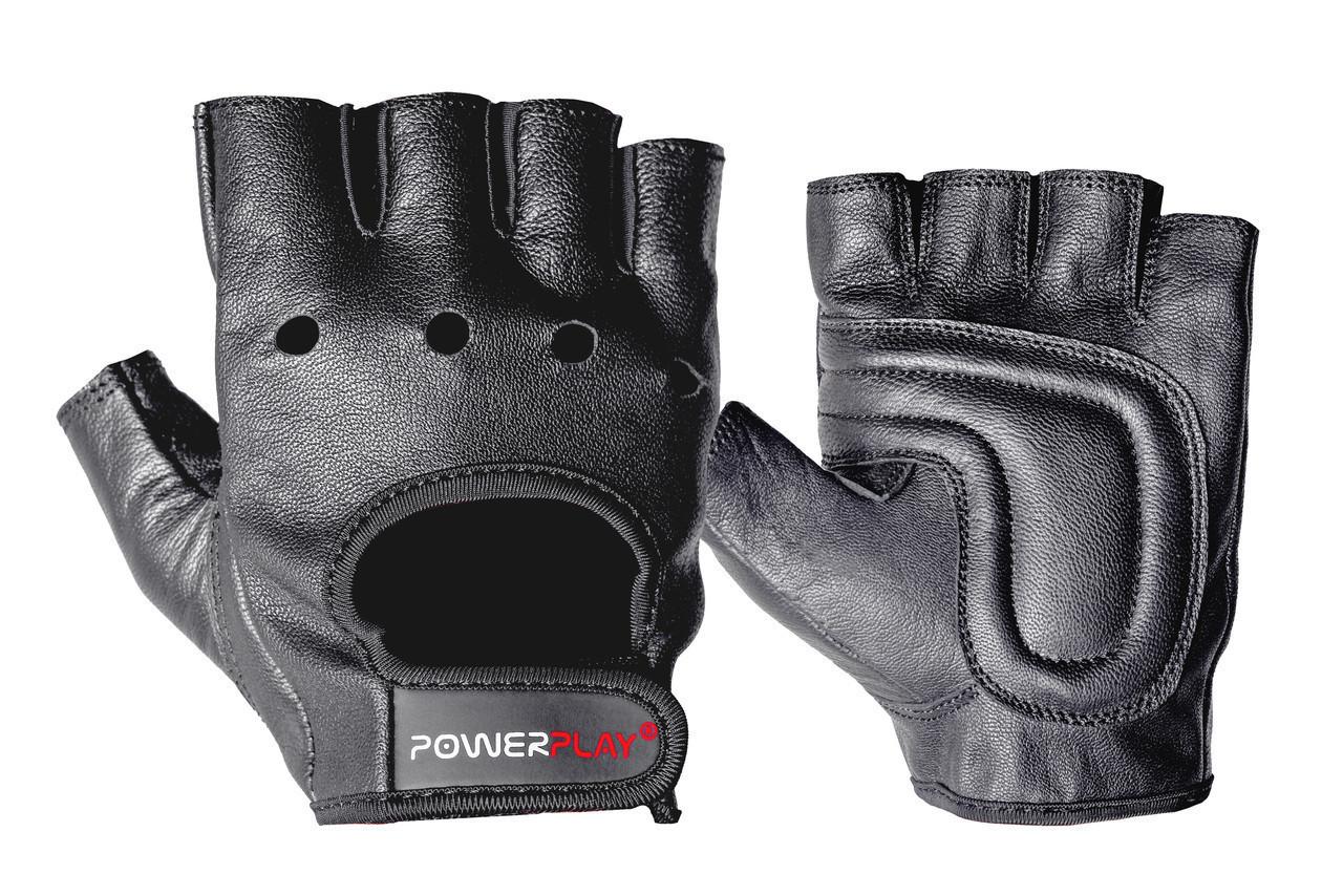 Перчатки для фитнеса PowerPlay 1572 Черные S