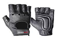 Перчатки для фитнеса PowerPlay 1572 Черные L, фото 1