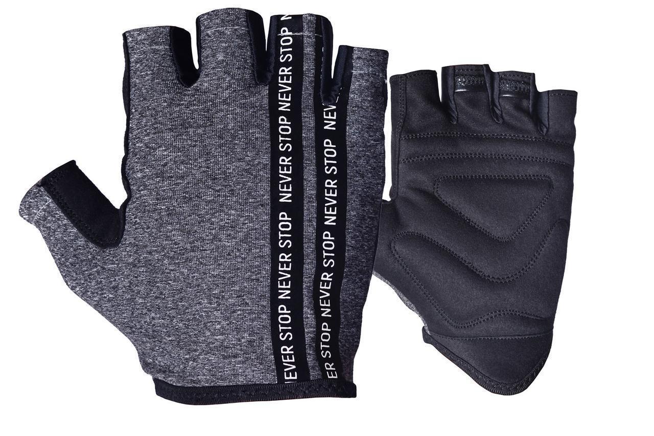 Перчатки для фитнеса PowerPlay 9940 Серые XS