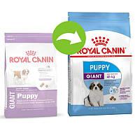 Корм для щенков до 8 месяцев Royal Canin GIANT PUPPY 15кг