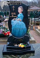 Памятник детский с цветным портретом