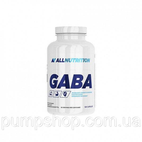 ГАМК AllNutrition GABA 120 капс. (уценка)