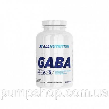 ГАМК AllNutrition GABA 120 капс. (уценка), фото 2