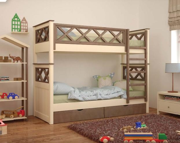 Деревянная кровать Мальта (Mebigrand)