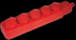 Удлинитель У05В 5 места с защитными крышками IP44 2Р+PE/5метров 3х1мм2 16А/250В ИЭК