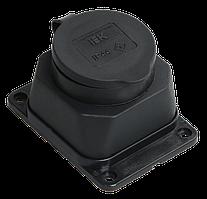 РБ13-1-0м Розетка с защитной крышкой настенная ОМЕГА IP44