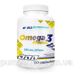 Жирні кислоти Омега-3 AllNutrition Omega-3 Strong 90 капс.