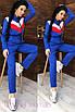 Модный комбинезон в спортивном стиле с капюшоном, фото 5