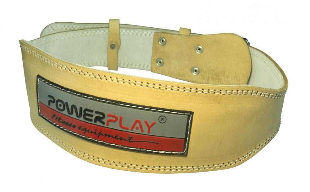 Пояс для тяжелой атлетики PowerPlay 5084 Светло-Коричневый L