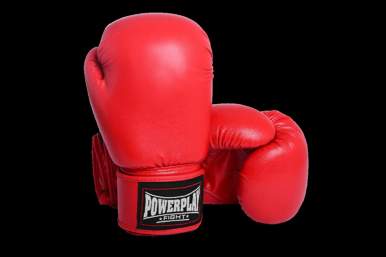 Боксерские перчатки PowerPlay 3004 Красные  10 oz 12 oz 14 oz 16 oz 18 oz