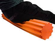 Ролик для йоги и пилатес PowerPlay 4020 (60 * 15 см) Оранжевый, фото 3