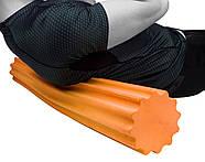 Ролик для йоги и пилатес PowerPlay 4020 (60 * 15 см) Оранжевый, фото 5