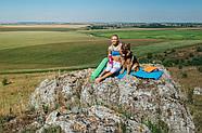 Ролик для йоги и пилатес PowerPlay 4020 (60 * 15 см) Оранжевый, фото 7