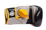 Снарядные перчатки PowerPlay 3038 Черно-Желтые S / M / L / XL, фото 4