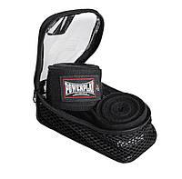 Бинты для бокса PowerPlay 3047 Черные (4м), фото 1