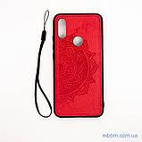 Накладка TPU+Textile Mandala с 3D тиснением Xiaomi Redmi 7 red, фото 4