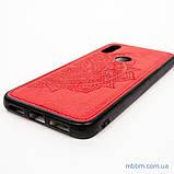 Накладка TPU+Textile Mandala с 3D тиснением Xiaomi Redmi 7 red, фото 6