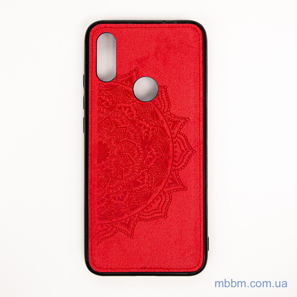 Накладка TPU+Textile Mandala с 3D тиснением Xiaomi Redmi 7 red