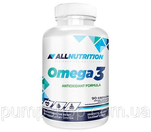 Жирные кислоты Омега-3 AllNutrition Omega-3 90 капс., фото 2