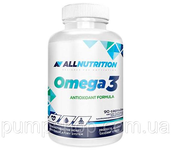Жирные кислоты Омега-3 AllNutrition Omega-3 90 капс.