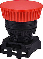 Кнопка-модуль грибок EGM-P-R (без фикс., красная)