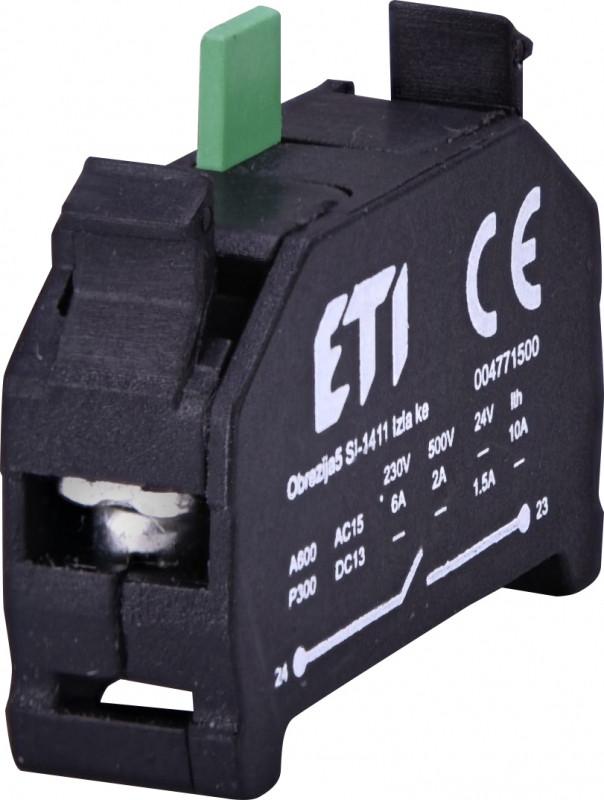 Блок контактов E-NO (1NO)