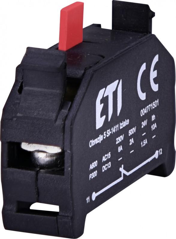 Блок контактов E-NC (1NC)