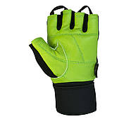 Перчатки для фитнеса PowerPlay 1064 D Зеленые L, фото 3