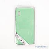 Чехол Silicon Soft cover Magnetic под магнитный держатель Samsung A10 ligt green, фото 2
