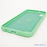 Чехол Silicon Soft cover Magnetic под магнитный держатель Samsung A10 ligt green, фото 4