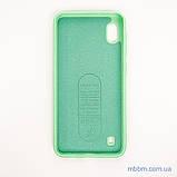 Чехол Silicon Soft cover Magnetic под магнитный держатель Samsung A10 ligt green, фото 6