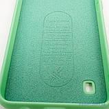 Чехол Silicon Soft cover Magnetic под магнитный держатель Samsung A10 ligt green, фото 7