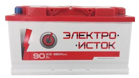 Автомобильный аккумулятор Электроисток 90