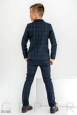 Классический костюм в клетку мальчику   116-146р., фото 3