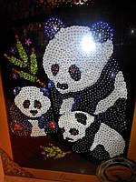 "Мозаика из пайеток ""Панды"", Пм-01-02, фото 1"