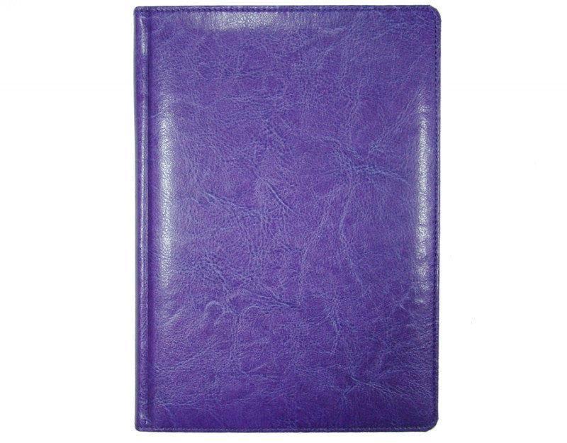 Ежедневник недатированный BRISK OFFICE SARIF Стандарт А5(14,2х20,3) фиолетовый