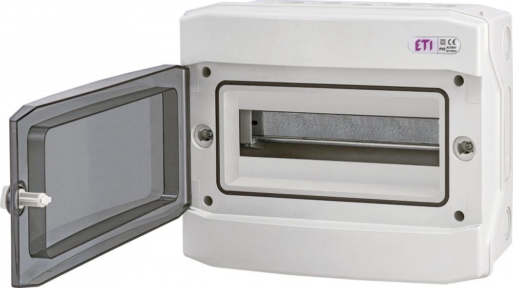 Пластиковий щит ECH-12PTu (12мод.нар.ісп.IP65)