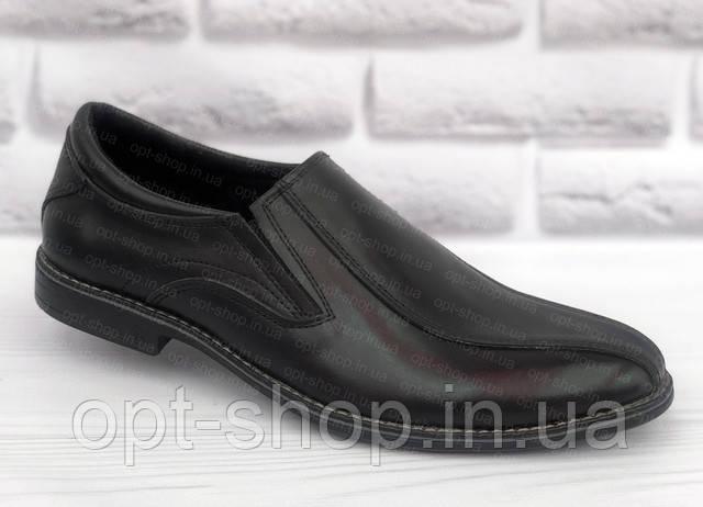 Туфли мужские классические на резинке
