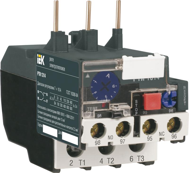 Реле РТИ-1308 электротепловое 2,5-4,0 А ИЭК