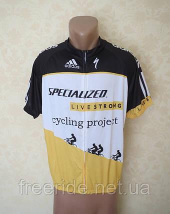 Вело джерсі Specialized LiveStrong (як XL), фото 2