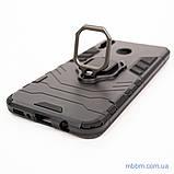 Ударопрочный чехол Transformer Ring под магнитный держатель Samsung M20 black, фото 3