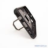 Ударопрочный чехол Transformer Ring под магнитный держатель Samsung M20 black, фото 7
