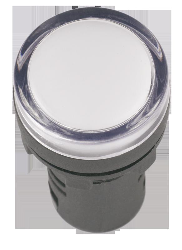 Лампа AD16DS(LED)матрица d16мм белый 12В AC/DC ИЭК